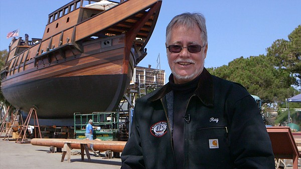 San Diego Maritime Museum president and CEO Ray Ashley at...