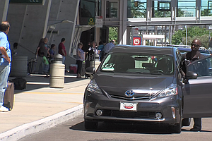 San Diego Airport, Rideshare Companies Strike Deal In Tim...