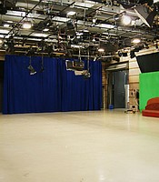 Studio A green screen