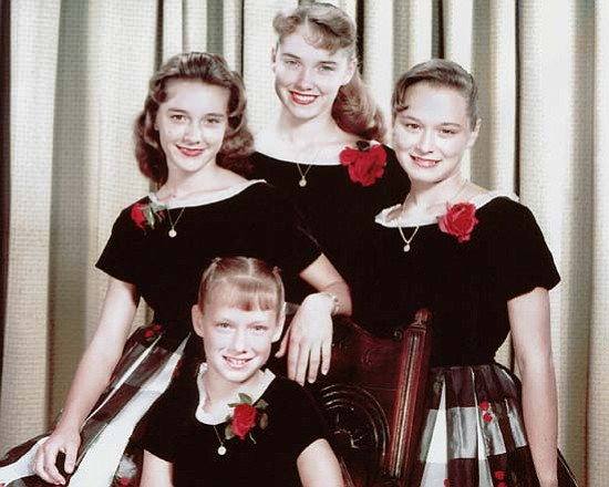 The Lennon Sisters perform hits from the 1950s and 1960s,...