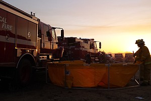 No Rest For Cal Fire After Dousing 270 Fires Last Week