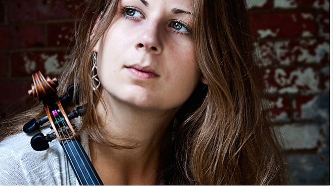 Mari Black will give a free fiddle class during Sunday's event at Balboa Park.