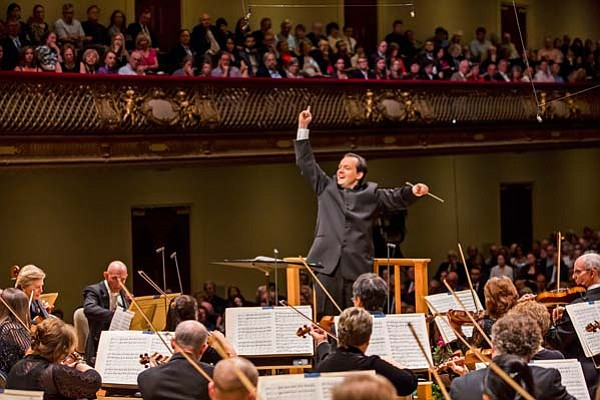 Andris Nelsons conducts the Boston Symphony Orchestra in ...