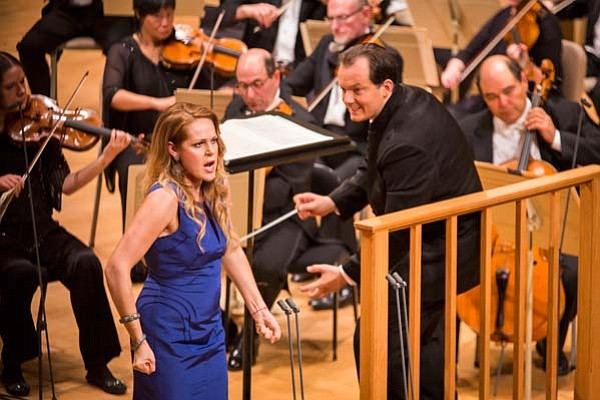 Kristine Opolais and Andris Nelsons as seen in GREAT PERF...
