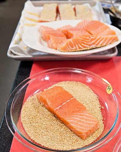America S Test Kitchen Sesame Crusted Salmon