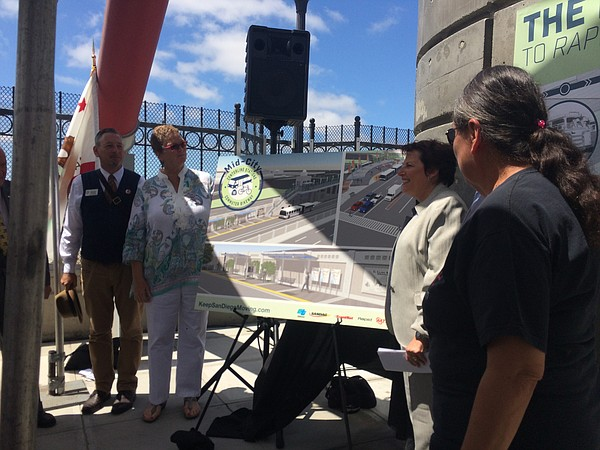 Architect Stephen Russell, San Diego Councilwoman Marti E...