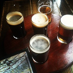 A selection of craft beers are shown in this photo, July 21, 2012.