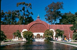 The Botanical Building in Balboa Park, pictured here, is the Conservancy's fi...