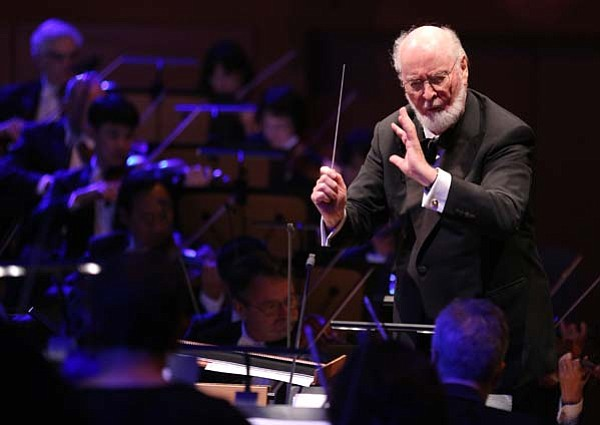 A photo of composer John Williams.