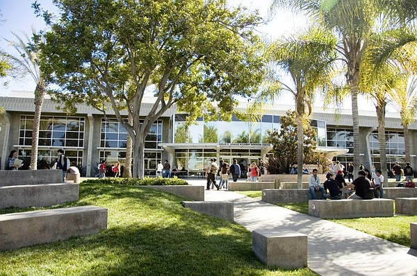 Students walk through the Southwestern College campus in ...