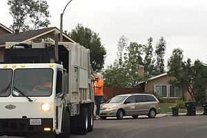 San Diego Mayor Spends Morning Hauling Yard Waste