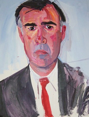 Don Bachardy's portrait of Jerry Brown is the official gu...