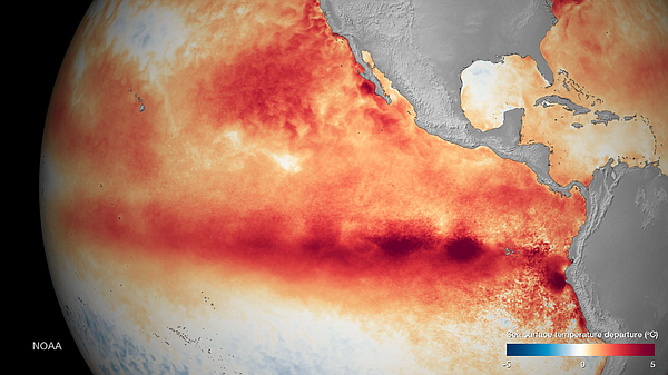 The developing El Niño is on track to become one of the m...