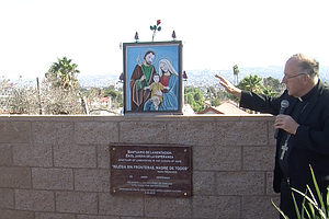 Photo for Bishop Of San Diego Discourages Religious Vaccine Exemptions