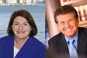 Atkins-Block Race Will Test Loyalty Of Longtime Donors