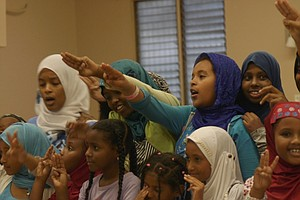 East African Girl Scouts In San Diego Learn Heritage, Fem...