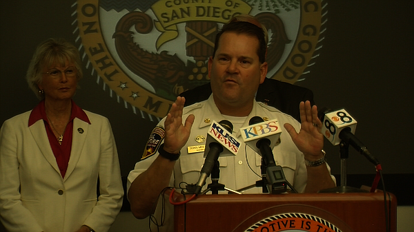 San Diego County Fire Chief Tony Mecham discusses the new...