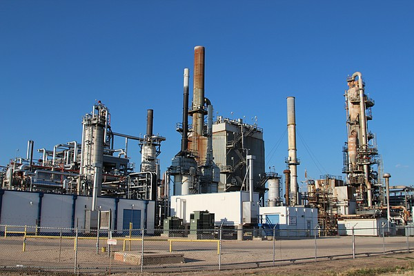 A refinery operated by Alon USA Energy in Big Spring, Tex...