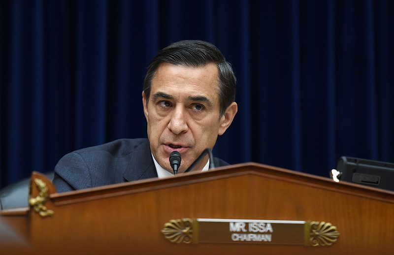House Oversight Committee Chairman, Rep. Darrell Issa, R-Calif. speaks on Cap...