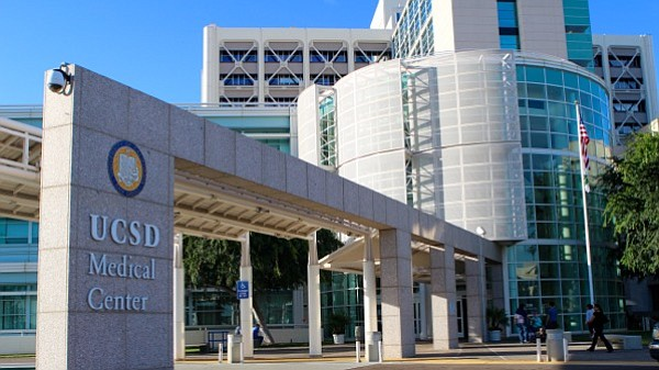 The UCSD Medical Center in Hillcrest is shown in this und...
