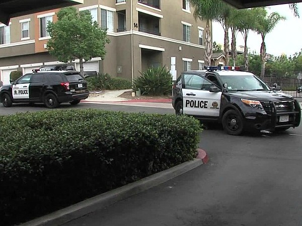 Police respond to a 911 call in the Otay Ranch area, Oct....