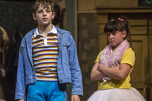"Elliott Hanna and Demi Lee in ""Billy Elliot The Musical L..."