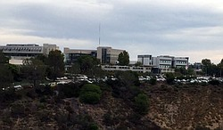 A view of Mesa College looking east, Oct. 28, 2015.