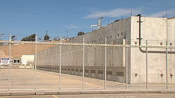 Existing dry cask storage of spent nuclear fuel at San Onofre, Oct. 8, 2015.