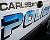 A Carlsbad police car is pictured in this undat...