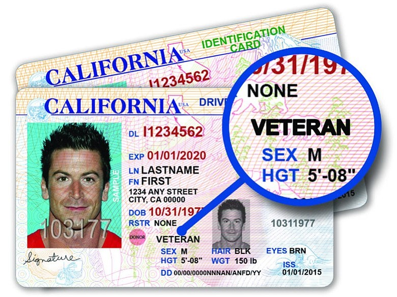 For California Veterans Kpbs Special Offer To Driver Licenses