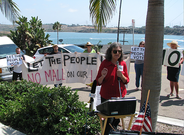 Opponents rally against Caruso's 85/15 Project, proposed ...