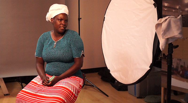 The AjA Project interviews and photographs a refugee woman living in the City...