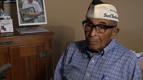 Ray Chavez, 103, the oldest living Pearl Harbor survivor, recounts what he ex...