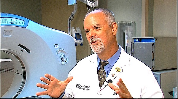 Sharp Healthcare radiation oncologist Phillip Zentner is ...