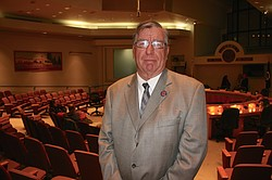 Oceanside City Councilman Jerry Kern is pictured at a city council meeting, Jan 6, 2016.