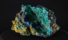 Azurite (Arizona) from the collections of the M...