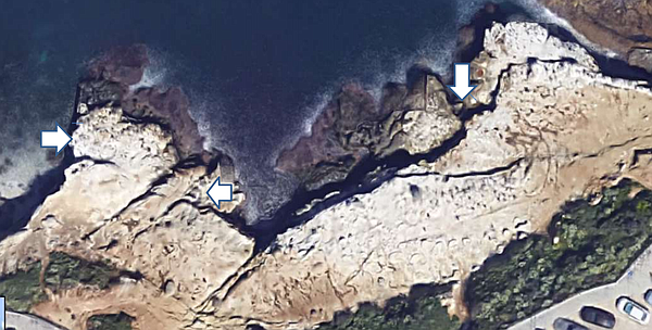 La Jolla Town Council Coastal Committee proposed location...