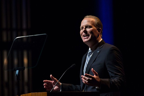 Mayor Kevin Faulconer delivers his second State of the Ci...