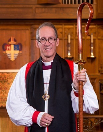 Bishop Jim Mathes of the Episcopal Diocese of San Diego is pictured in this u...