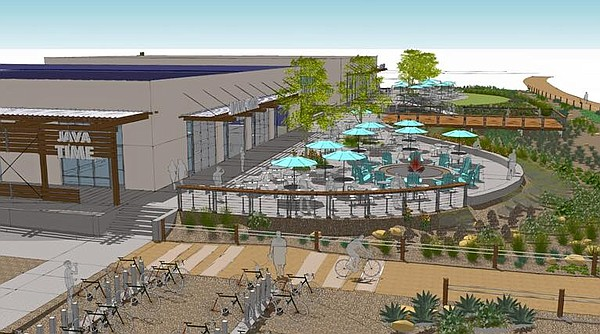 Imperial Beach's Bikeway Village, as shown in this rendering, will cater to b...