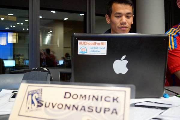 UC San Diego Associated Students President Dominick Suvon...