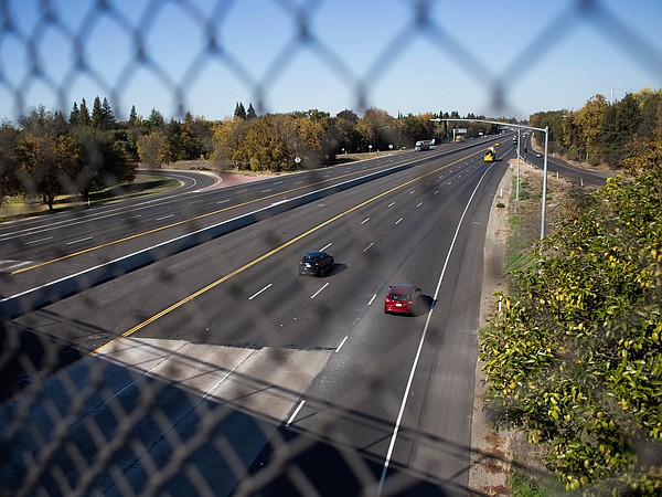 Interstate 5 separates the Pocket and Meadowview neighbor...