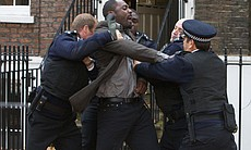 DCI John Luther (Idris Elba) resists arrest aft...