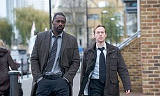 DCI John Luther (Idris Elba) and DCI Ian Reed (...