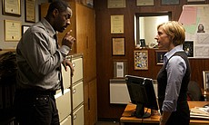 DCI John Luther (Idris Elba) and DSU Rose Telle...