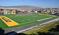 The football field, CETYS Universidad Campus, T...