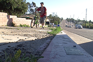 Bike Lane Coming To San Diego Street Where Skateboarder Died