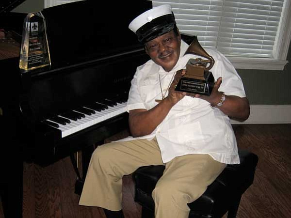 Fats Domino at home, 2012.
