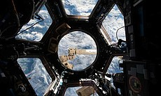 View of Earth from the ISS Cupola. (72601)