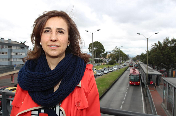 Alexandra Rojas has been tapped to head the Transmilenio ...